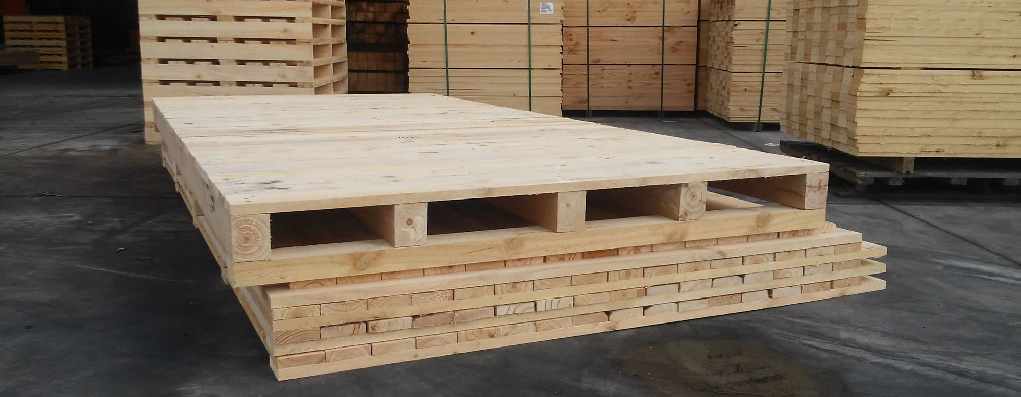 Export crate - flat packed